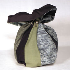 Striped DICE BAG — for Game Parts, Toys, Sewing Notions, Letter Tiles — (Bag A)