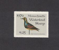MA6 - Massachusetts State Duck Stamp.   Single. MNH. OG.