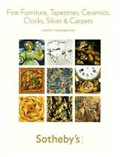 SOTHEBY'S FINE FURNITURE, TAPESTRIES, CERAMICS, CLOCKS, SILVER & CARPETS