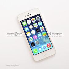 Apple iPhone 5 16GB - White / Silver - (Unlocked / SIM FREE) - 1 Year Warranty