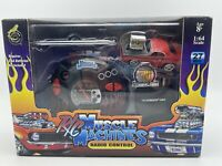 MUSCLE MACHINES R/C RADIO CONTROL '70 PLYMOUTH CUDA CHARGED 27 MHZ FREE SHIPPING