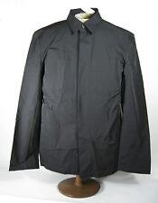 BCBG Max Azria Men's Top Coat Size XL Black Longsleeve Polyamide Button