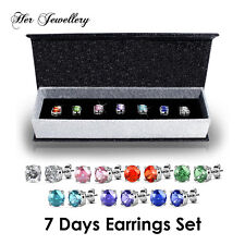 [Crystals from Swarovski®] 7 Days Earrings