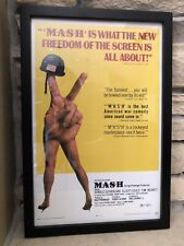Framed MASH Movie Poster 1970