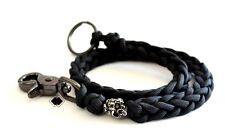 Mind Skull paracord wallet key chain lanyard made in USA