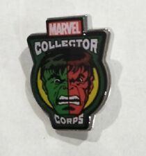 BNIB Marvel MCC superheroes showdown pin hulk Collectors Corps exclusive
