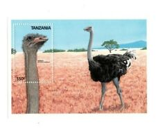 Tanzania - 1988 Ostrich - Souvenir Sheet - MNH