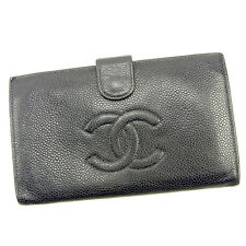 Auth CHANEL purse COCO Mark unisexused J 17283