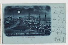 Gruss aus Cuxhaven,Germany,Lootsenhaus,Lower Saxony,Used,Bahnpost,Zug 306,1898