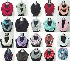 HIGH QUALITY New Women Fashionable Infinity Scarf Wrap Cowl Circle Loop Scarves