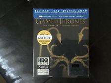 GAME OF THRONES The Complete Second Season (Blu-Ray + DVD) Best Buy Exc. Greyjoy