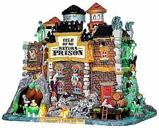Lemax 45664 ISLE OF NO RETURN PRISON Spooky Town Building Sights Sounds Decor I