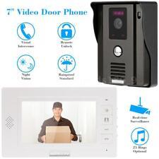 """KKmoon® 7"""" telefono videocitofono campanello Intercome remoto sbloccare A3Y1"""