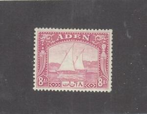 ADEN # 8 VF-MLH 8as DOW CAT VALUE $30