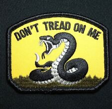 DON'T TREAD ON ME US ARMY TEA PARTY SNAKE FULL COLOR MILSPEC VELCRO® BRAND PATCH