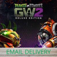 🎁Plants vs. Zombies Garden Warfare 2 Deluxe🎁 PC Game Region Free WARRANTY