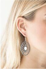 Paparazzi Really Whimsy - White Earrings