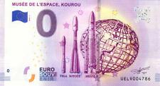 97 KOUROU Cité de l'Espace, 2019, Billet 0 € Souvenir