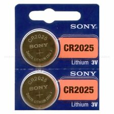 **FRESH NEW** 2 x SONY CR2025 Lithium Battery 3V Exp 2027 Pack Ship From FL USA