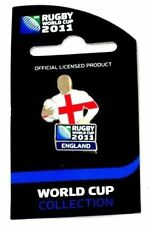 33632 ENGLAND RUGBY WORLD CUP 2011 JERSEY FLAG PIN BADGE COLLECTABLE