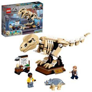 Lego 76940 Jurassic World T-Rex Dinosaur Fossil Exhibition Toy Set Triceratops