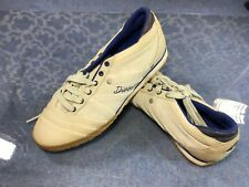Diesel Live Rush Off White Blue Suede Fashion Sneakers - Sz. 8