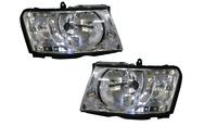 Pair of Headlights lamps L+R for Nissan Patrol GU series 10/2004 ~ 05/2015