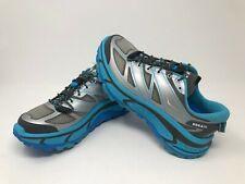 Women's Size 7 Hoka Mafate Speed (grey/blue atoll)