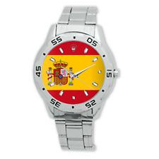 Reloj de Pulsera España bandera España Correa de Acero Inoxidable Reloj De Hombre Vestido España