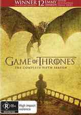 Game Of Thrones SEASON 5 : NEW DVD