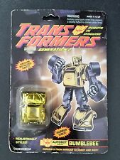 Transformers Generation 2 Autobot minicar converts Bumblebee 1992 Hasbro C-16A