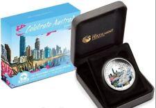 2010 CELEBRATE AUSTRALIA QUEENSLAND Silver Coin
