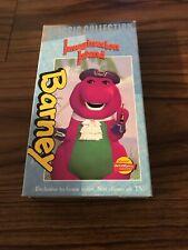 Barney's Imagination Island  VHS  2003 Prime Time TV Special