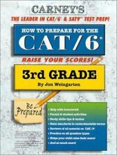 How to Prepare For the CAT/6 3rd Grade [ Weingarten, Jon ] Used - Good