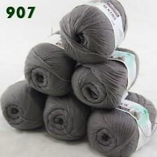 Sale 6 Skeins x50g LACE Soft Acrylic Wool Cashmere Shawls Hand Knitting Yarn 07