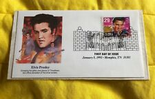 USA ELVIS Presley 29 Cent Stamp First Day ISSUE 1993 Francobollo Raro!