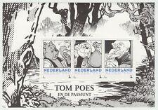 Nederland 3012-D-XX deel Postset Tom Poes postfris vel 2 Tom Poes en de Pasmunt