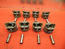 Set of 8 USED FORD 428 SUPER COBRA JET PISTONS #C9ZE-6110-A ORIGINAL FoMoCo USA
