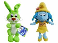 "Smurfs 3 The Lost Village Set of 2 Sumrfs 8"" Bucky & Smurf Lily"