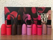 Mac makeup Sets 5pcs Mini lipstick Look In A Box