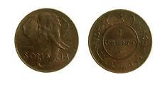 pcc2137_69) Italia Somalia Roma AFIS - 1 centesimo 1950