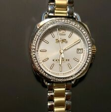Coach Tatum 14502591 Watch With 34mm Silver Face With 2 Tone Breclet