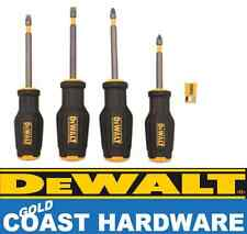 DeWALT 4 Piece MAXFIT Screwdriver Set