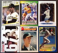 lot of 6 3 super stars of their day in MLB Barry Bonds Sammy Sosa & Mark McGwire