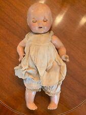 Rare Antique 14� Composition Dream Baby Doll 1930's