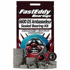 Abu Garcia 6600 D5 Ambassedeur-Custom Fishing Reel Rubber Sealed Bearing Kit
