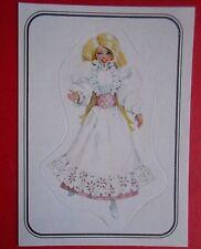 figurines prentjes cromos stickers picture cards figurine barbie 56 panini 1983