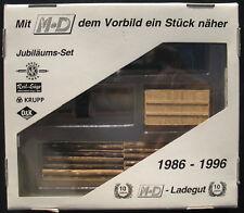 M+D 100 /96 - O&K, KRUPP, Reil-Säge, KORDES Kabel - Ladegut Jubiläums-Set 1:87