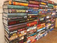 Lot of 10 Science Fiction Fantasy Rare Book Hardback SCI-FI RANDOM MIX UNSORTED