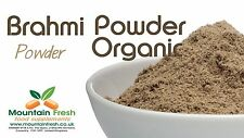 Organico Brahmi Powder-Bacopa Monnieri-Superfood indiano 50G GRATIS UK Consegna